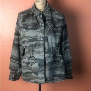 A.n.a Camouflage Utility Jacket